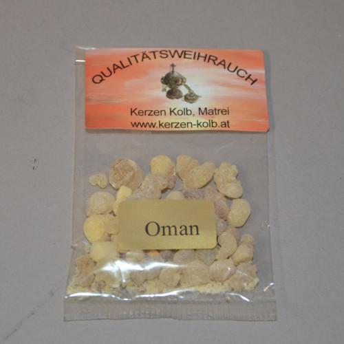 Weihrauchbrief Oman